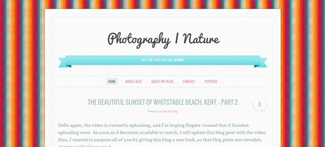 New Blog Theme - Ever After