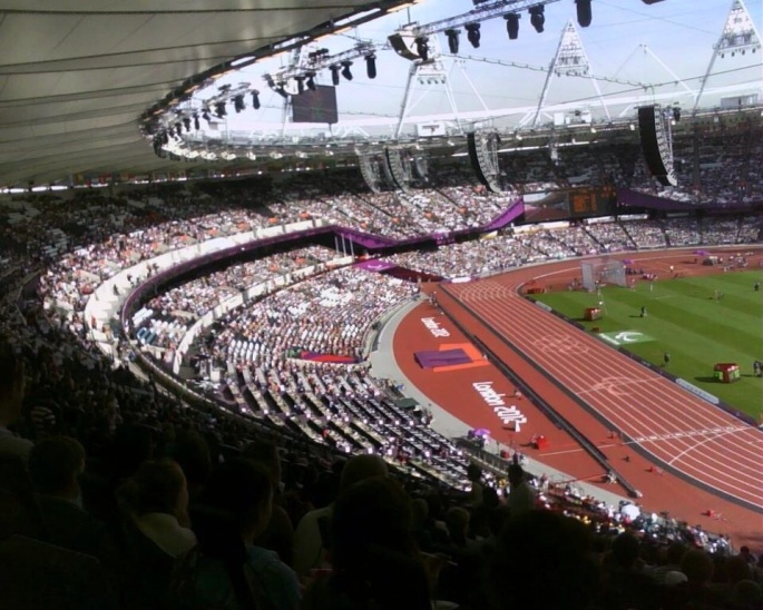 2 Photos I took at the London 2012 Paralympic Games