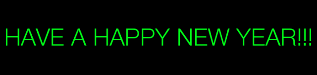 NEW YEAR SIGN FOR BLOG TO END 2013