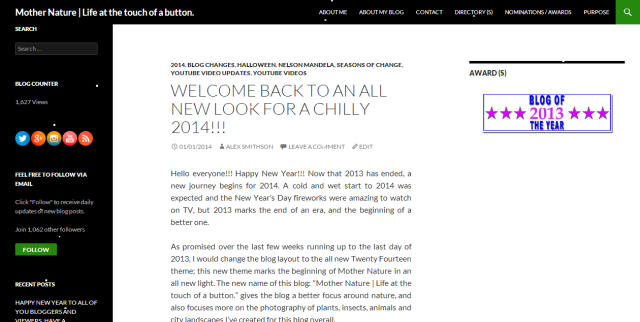 New Blog Theme Preview