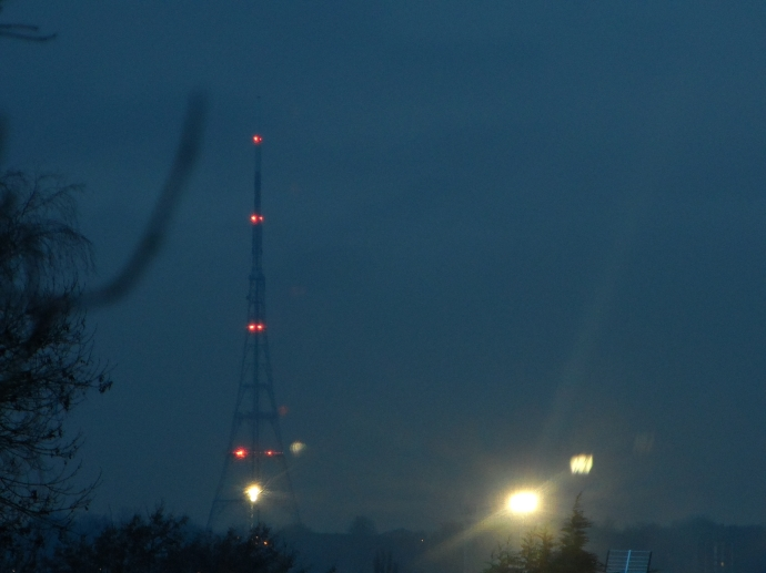 The Crystal Palace Tower at Night - Taken Last Week