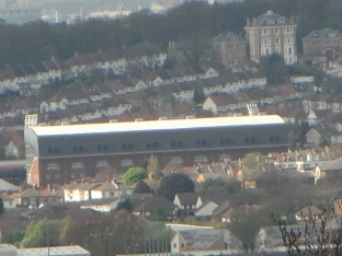 The Crystal Palace Football Stadium in South Norwood