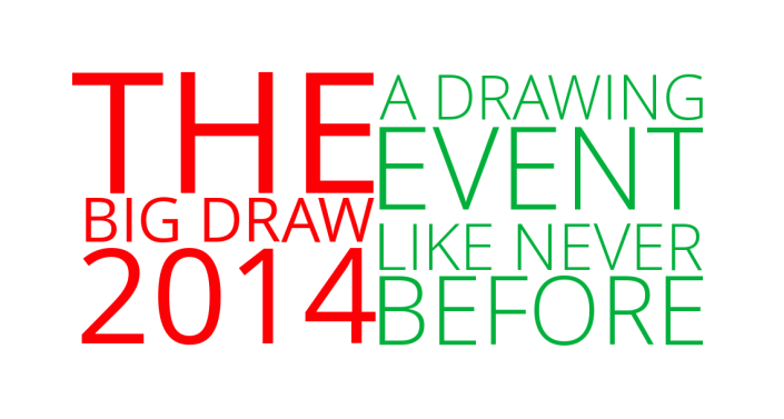 The Big Draw 2014 - A Drawing Event Like Never Before - Remastered