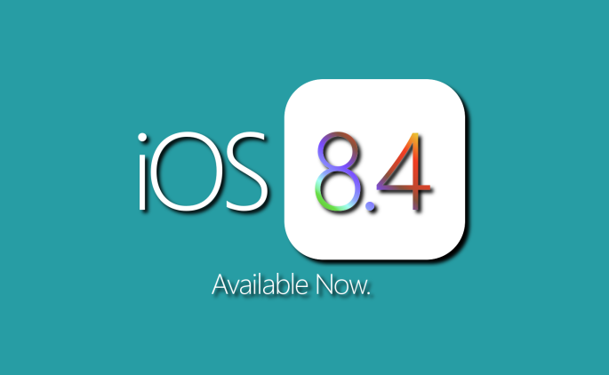 iOS 8.4 - Available Now.