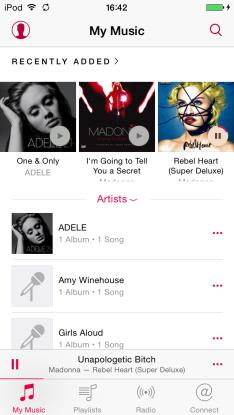 iOS 8.4 Music Screenshots 002