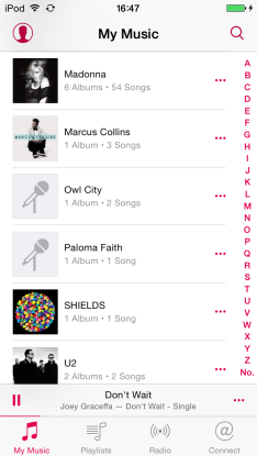 iOS 8.4 Music Screenshots 008