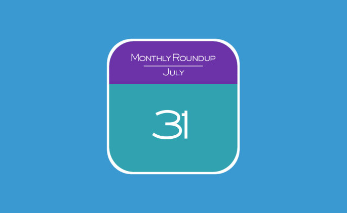 31st July 2015 - Monthly Roundup