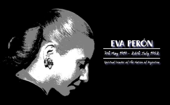 Eva Perón - Image for Case Study #7