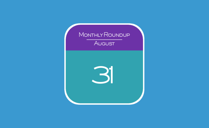 Monthly Roundup - August 2015