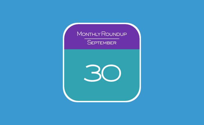 Monthly Roundup - September 2015