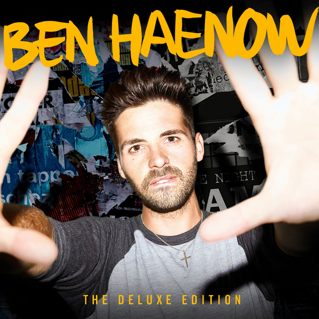 Ben Haenow (The Deluxe Edition) - Customised Final Album Artwork