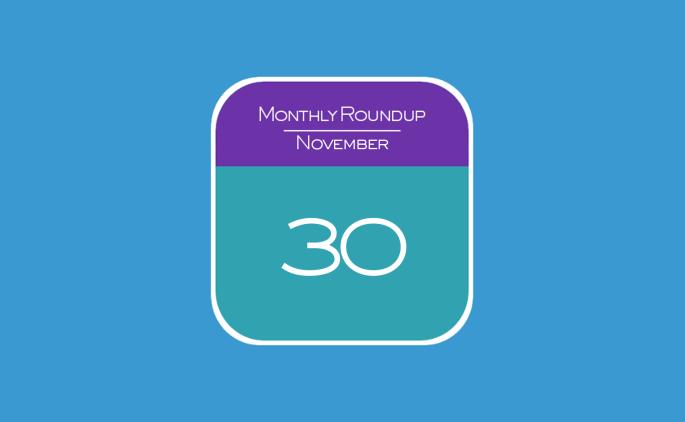 Monthly Roundup - November 2015