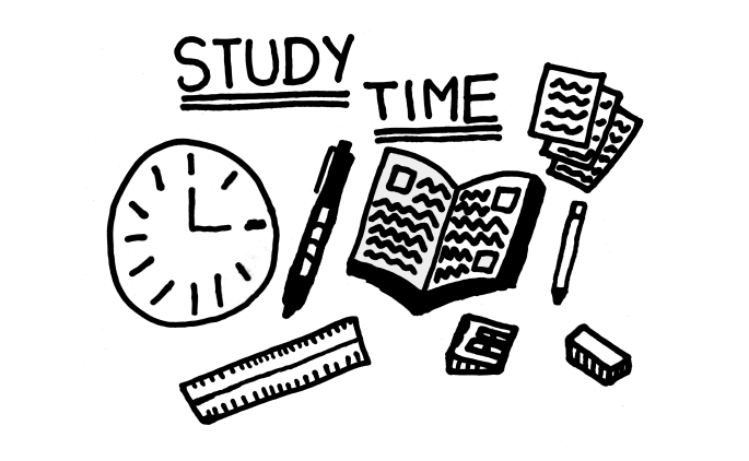 Study Time - Does a Large Workload from School, College or Even University Stress You Out