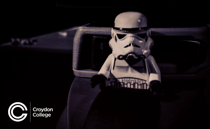 Storm Trooper - Photo Moment - Croydon College