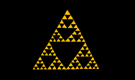 Sierpinski Triangle - The Legend of Zelda