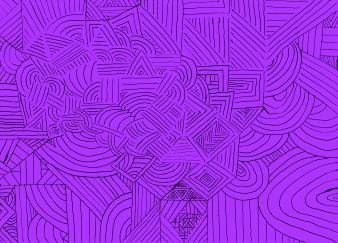Vibrant Indigo - Extreme Purple