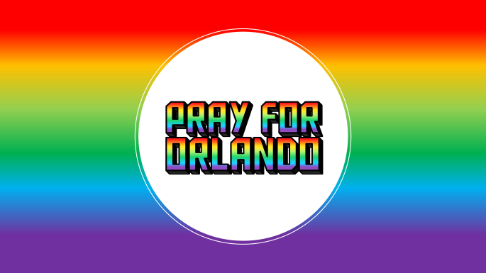 Pray for Orlando Badge