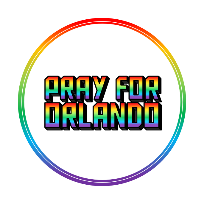 Pray for Orlando Support Badge