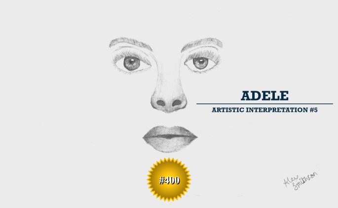 Adele - Artistic Interpretation #5 - Article #400
