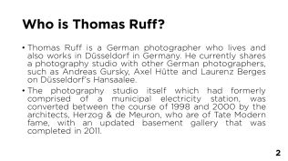 Who is Thomas Ruff? - Page 2