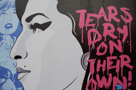 Amy Winehouse Mural - Bareface