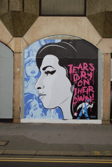Amy Winehouse Mural - Produced by Bareface